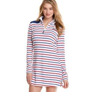 Vineyard Vines Stripe Shep Shirt Beach Coverup